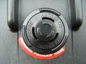 Automatic Purge Valve found on Pelican Cases.