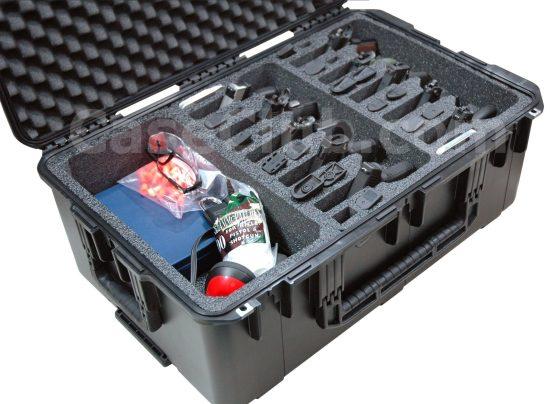 10 Pistol & Accessory Case - Foam Example