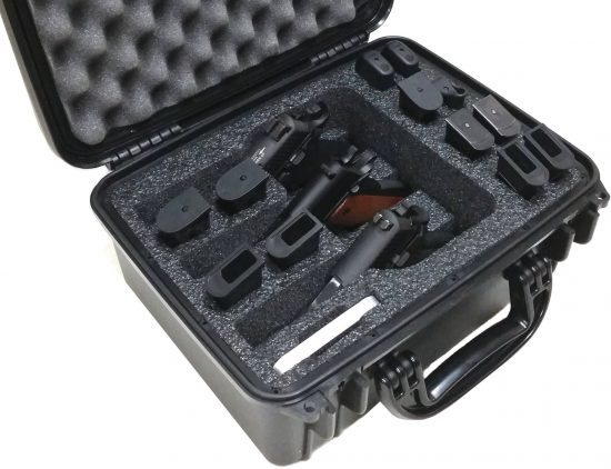 3 Pistol Case - Foam Example
