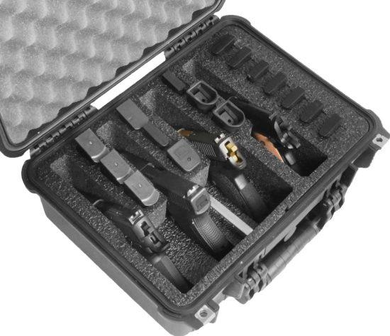 4 Pistol Case (Gen-2) - Foam Example