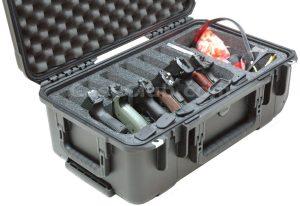 6 Pistol & Accessory Case - Custom Foam Example
