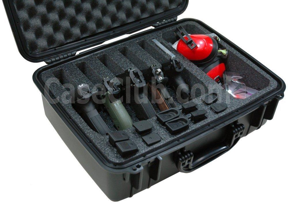 Case Club CC720SE Case Custom Foam Example: 5 Pistol