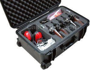 5 Revolver & Accessory Case - Custom Foam Example