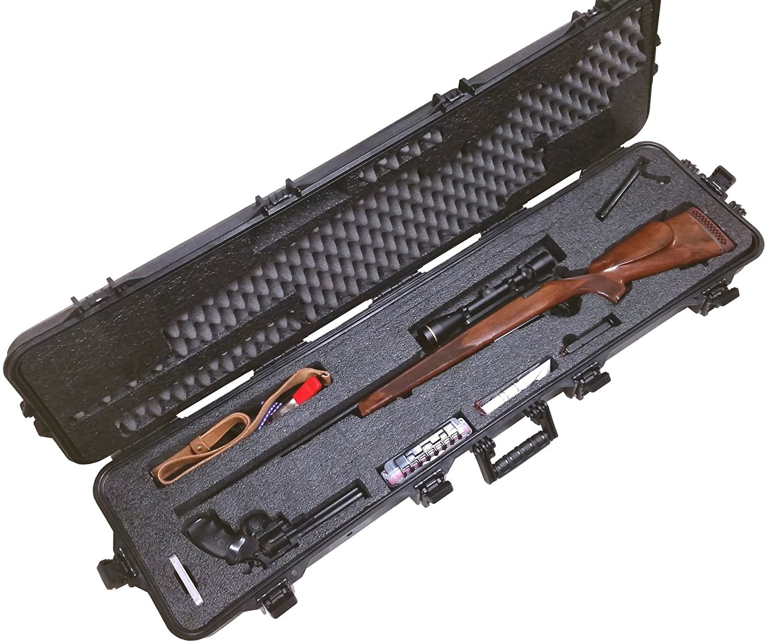 Case Club CC108187PL Case Custom Foam Example: Hunting Rifle Case