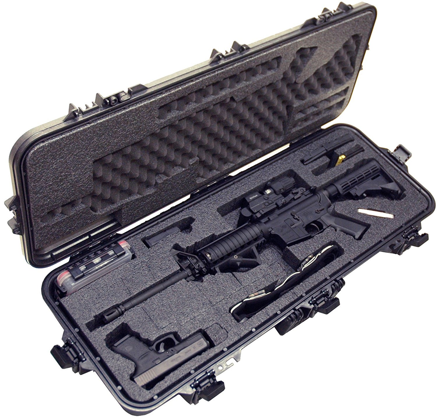 Case Club CC108361PL Case Custom Foam Example: AR15 Rifle Case