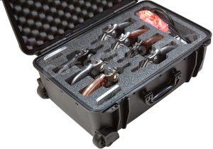 7 Revolver & Accessory Case - Custom Foam Example