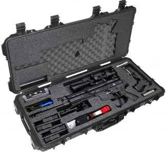 Case Club CC108361PL Case Custom Foam Example: FNH SCAR 17S, 16S Rifle Case (Gen-2)
