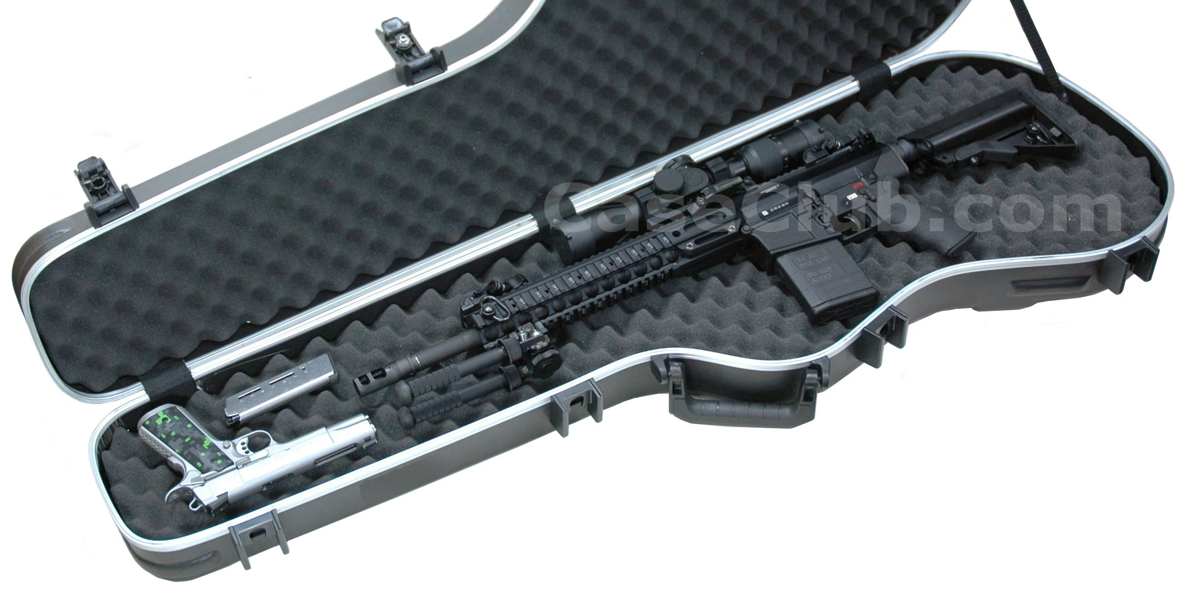 Case Club Discreet Universal Rifle Case Made From A Guitar