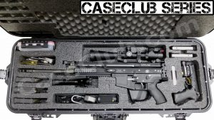 Case Club Waterproof FNH Scar 17S Rifle Case with Silica Gel