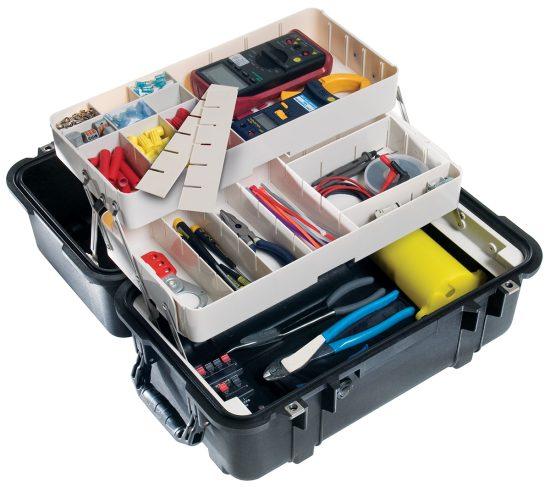Pelican™ 1460TOOL Case (Mobile Tool Chest) - Foam Example