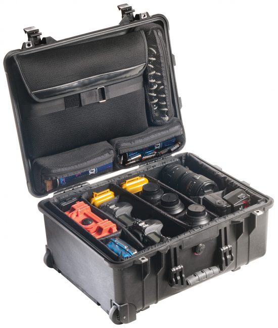 Pelican™ 1560SC Case (Studio Case) - Foam Example