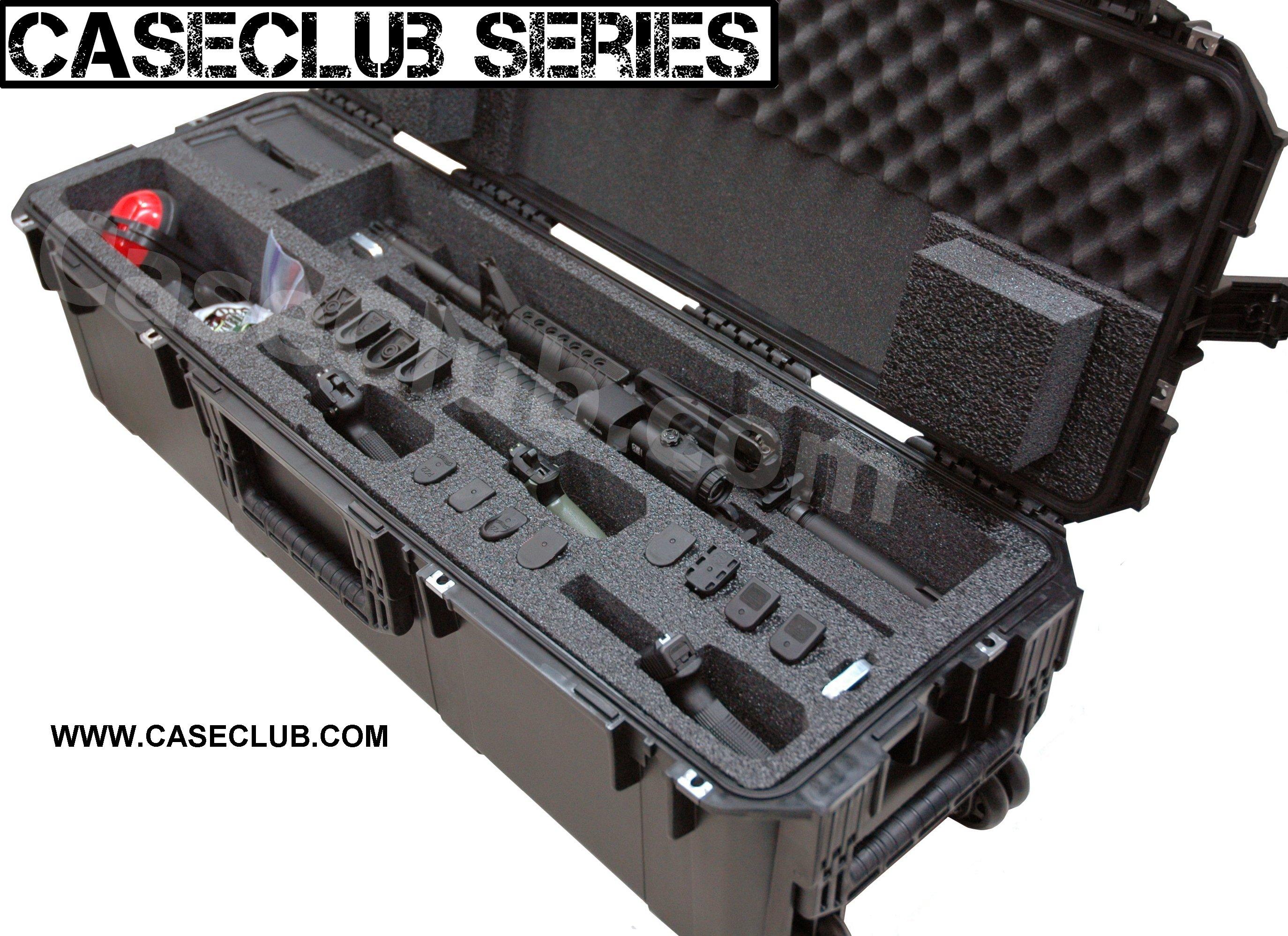 2 Ar15 Rifle Amp 3 Pistol Case Multiple Rifle Shotgun