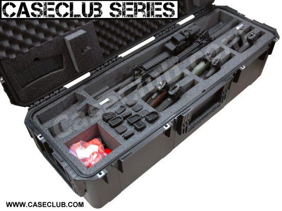 2 AR15 Rifle & 6 pistol Case - Foam Example