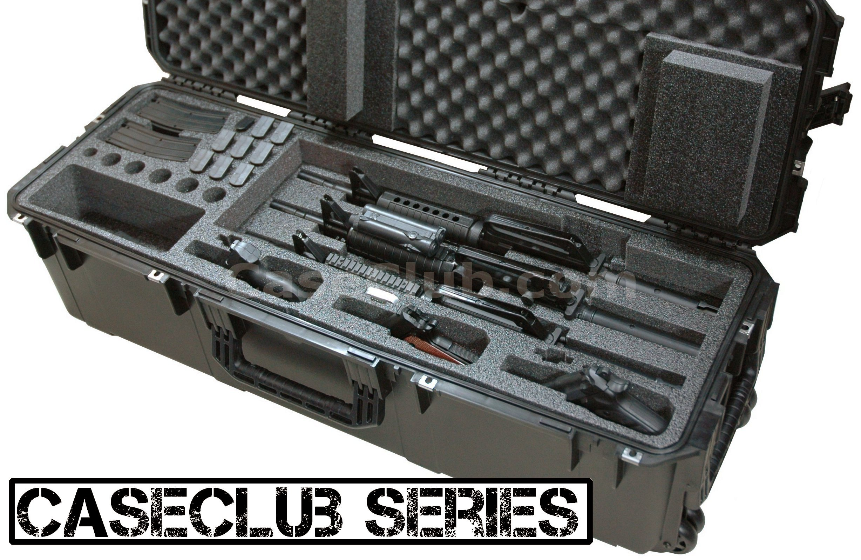 3 Short Barrel AR15 Rifle & 3 Pistol Case - Multiple Rifle ...