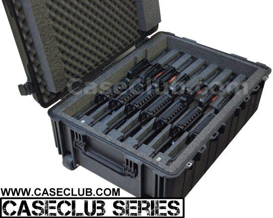 7 AR15 Rifle Case - Foam Example