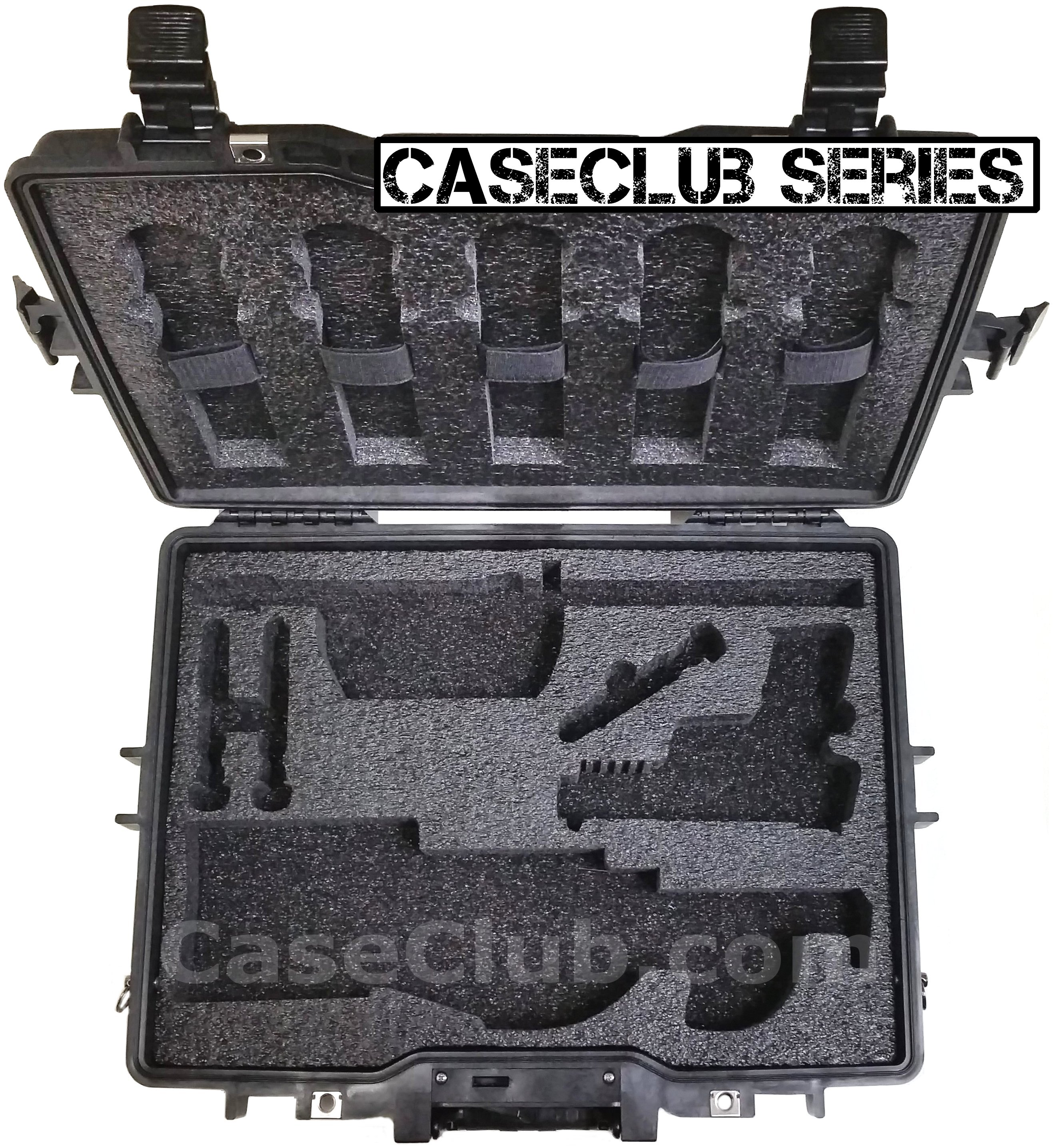 Ps90 For Sale >> Case Club Waterproof Breakdown FN PS90 Rifle Case with Silica Gel