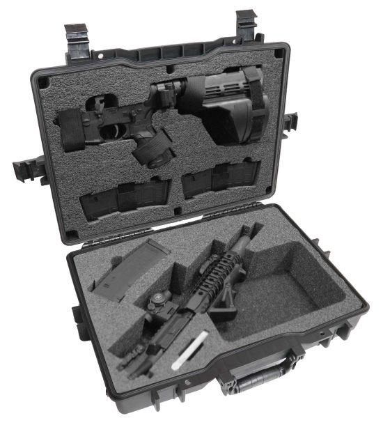 Breakdown AR-SBR & AR Pistol Case (Gen-2) - Foam Example