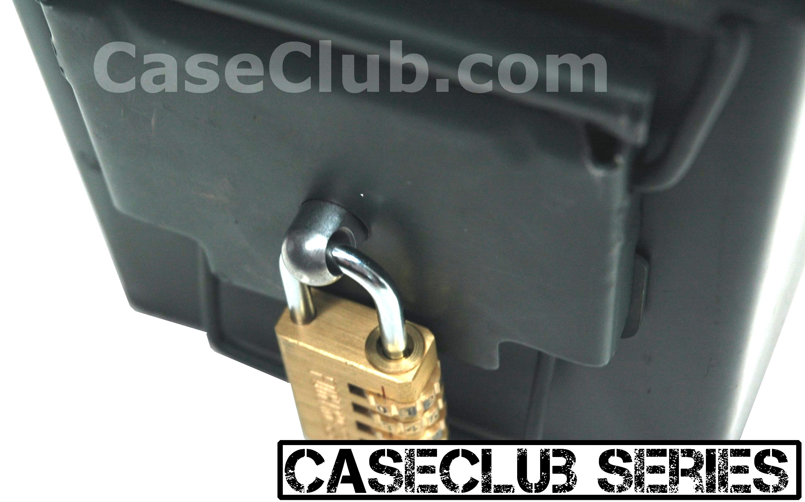 50 Cal Ammo Can With Locking Hardware Case Club Cases