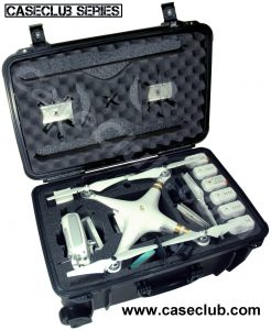 DJI Phantom 3 Case - Custom Foam Example
