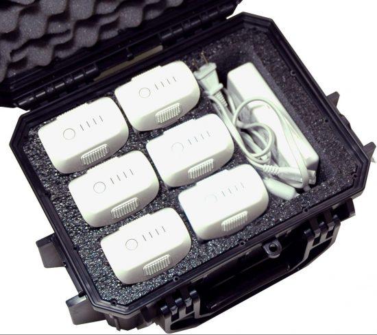 DJI Phantom 4 Battery Case - Foam Example