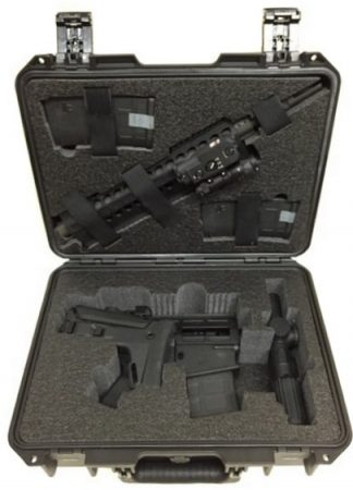 Breakdown DRD Tactical Paratus Rifle Case - Foam Example