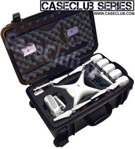 DJI Phantom 4 Case - Custom Foam Example