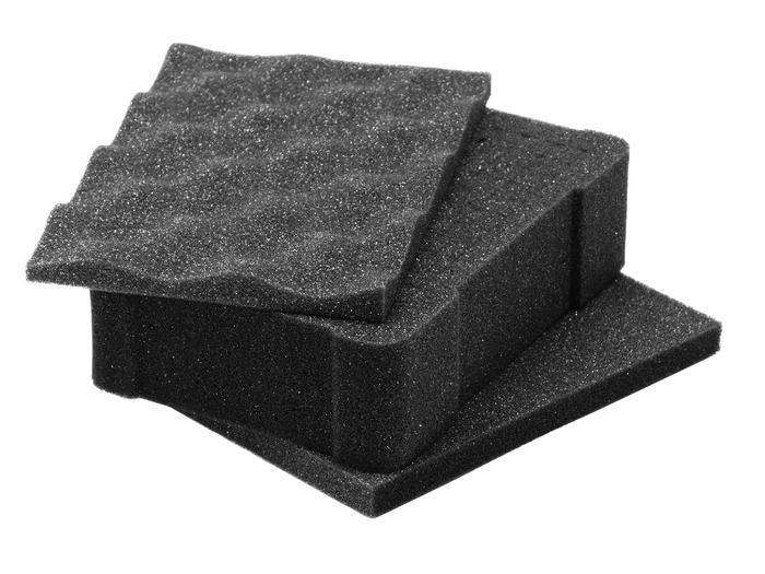 Pre-Scored Pluckable Foam For Nanuk 903 Case