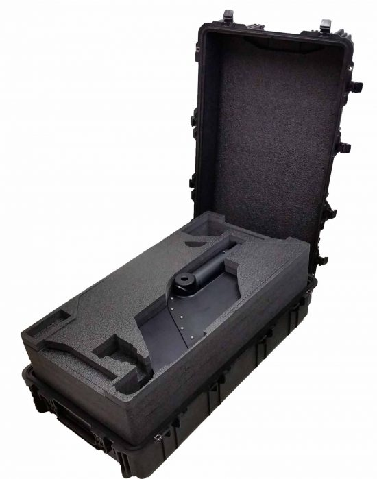 MotoCrane Fairing and Vibration Isolator Case - Foam Example