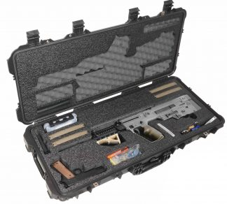 Case Club CC108361PL Case Custom Foam Example: IWI Tavor Rifle Case (Gen-2)