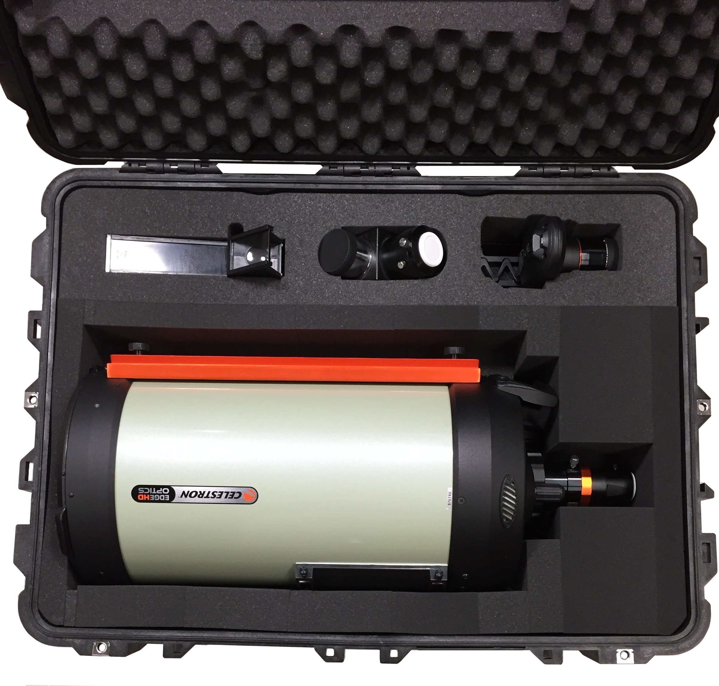 Case Club CC3021183ISK Case Custom Foam Example: Celestron 9.25 Edge HD OTA Case