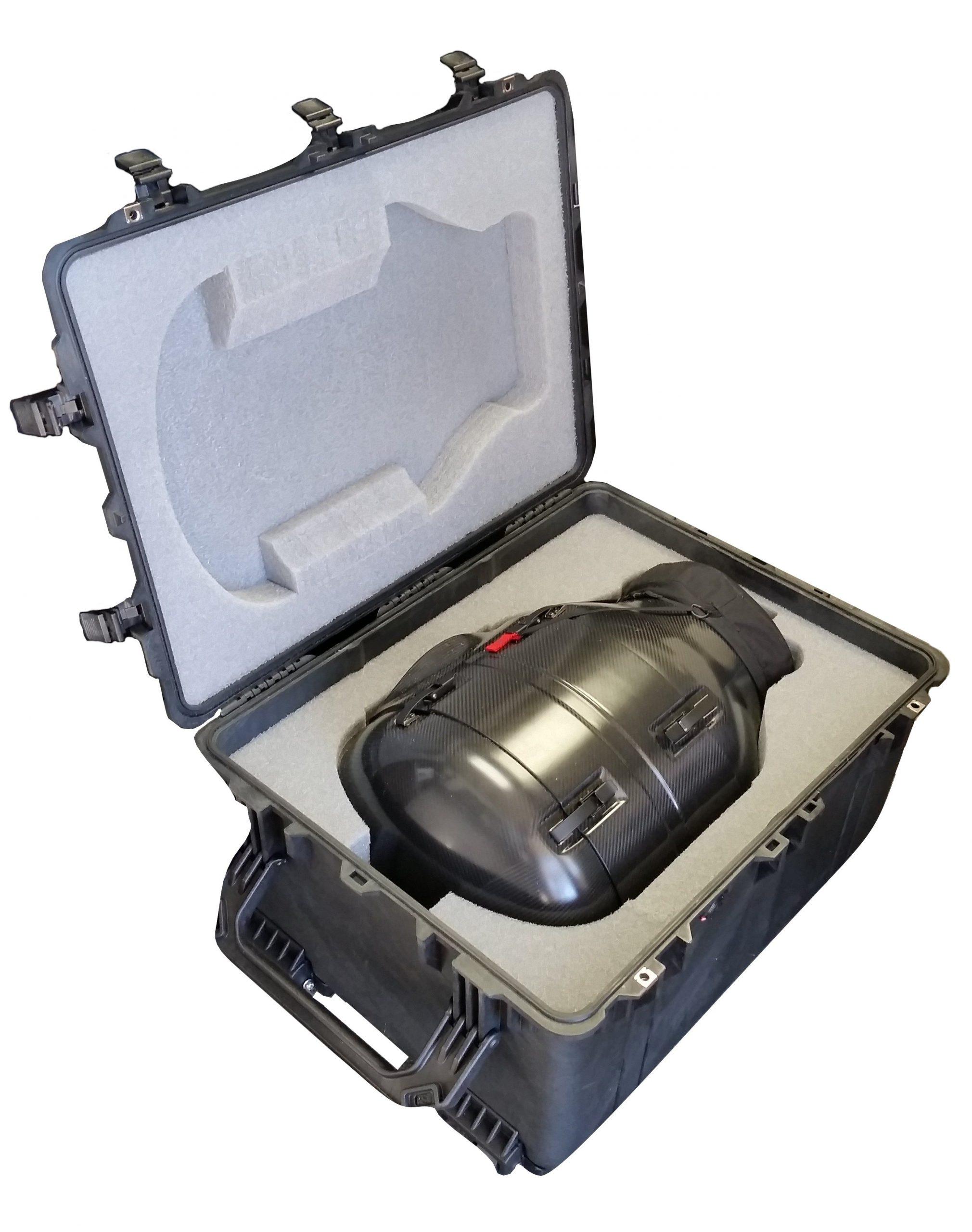 Case Club CC2922163ISK Case Custom Foam Example: Shotover F1 Camera System Case For Gimbal Shroud
