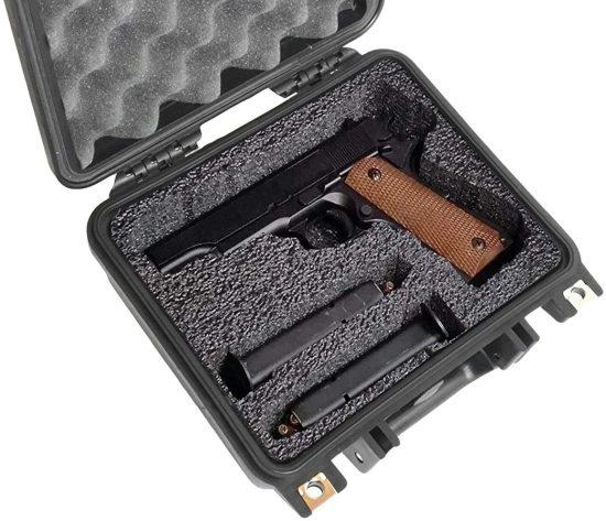 Single Pistol Case - Foam Example