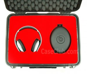Beats by Dre Headphone Case - Custom Foam Example