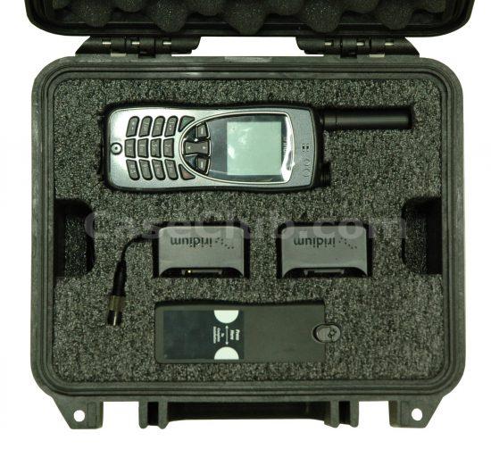 Iridium Extreme Satellite Phone Case - Foam Example