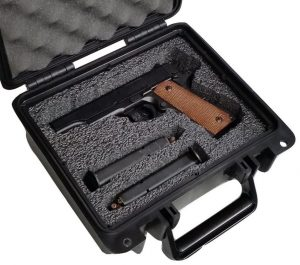 Single Pistol Case - Custom Foam Example