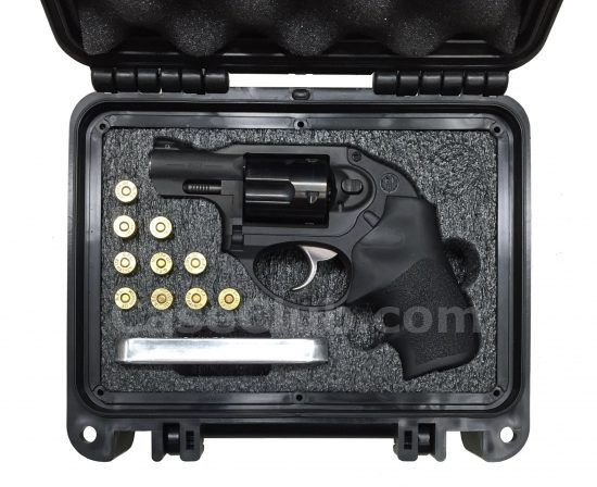 Ruger LCR Revolver Case - Foam Example