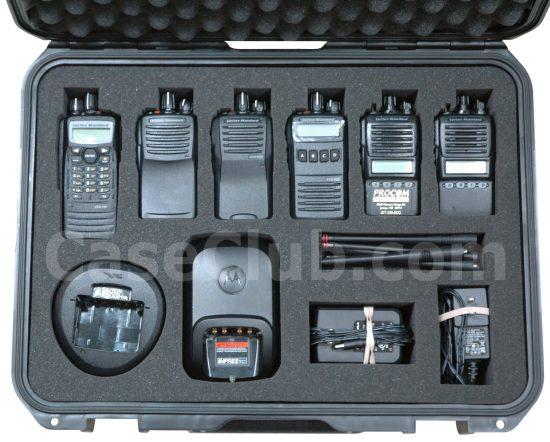 Vertex Standard Radio Case - Foam Example