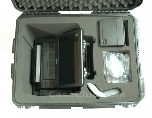 Partner 600 & 1000 Series with PM-116 Rear Display Case - Custom Foam Example