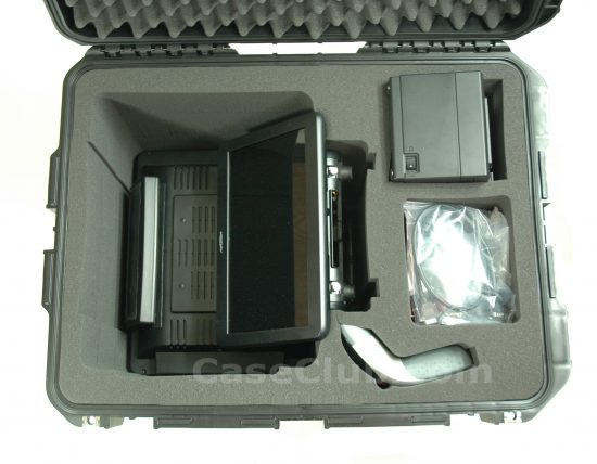 Partner 600 & 1000 Series with PM-116 Rear Display Case - Foam Example