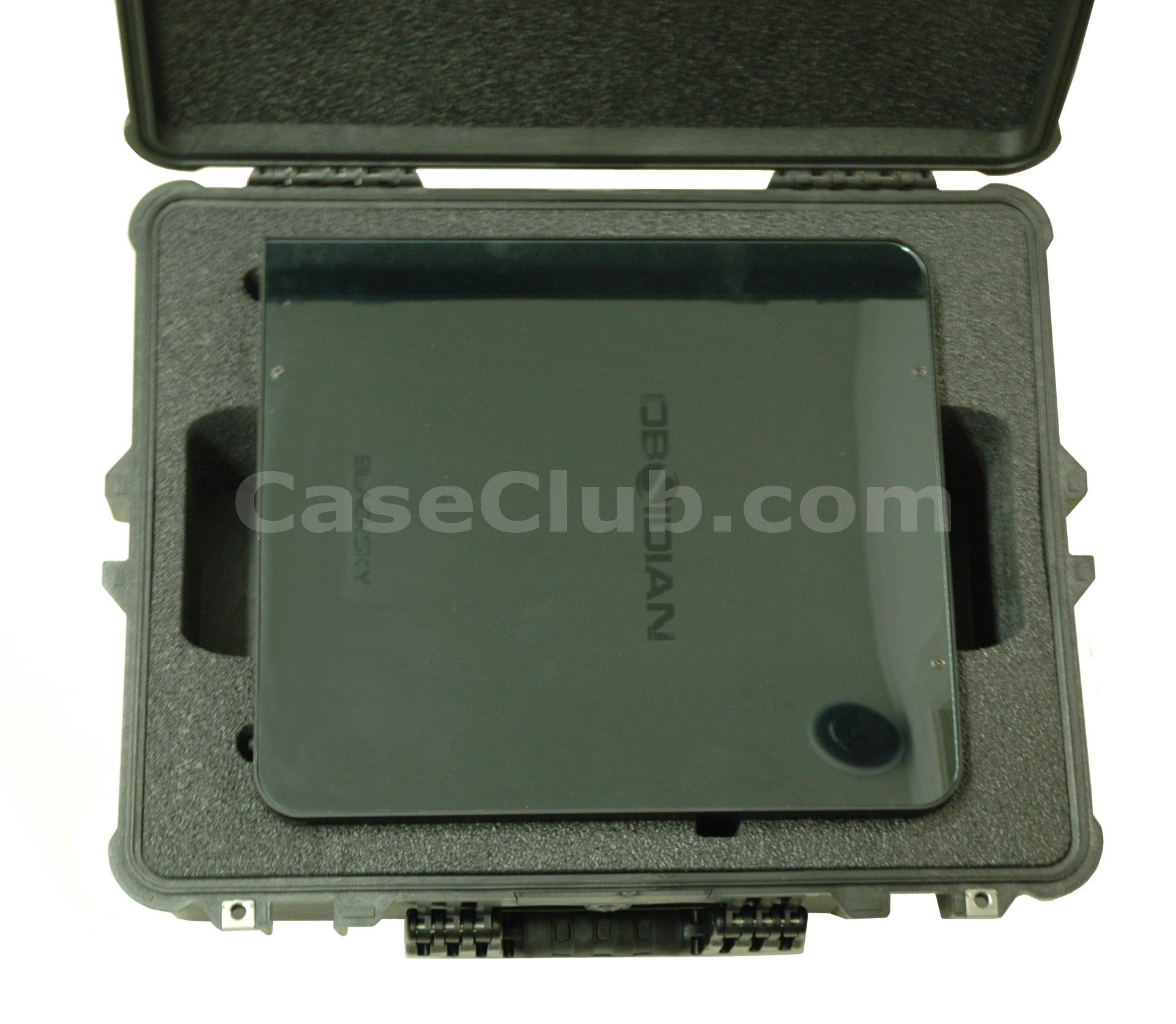 Pelican™ 1600 Case Custom Foam Example: Obsidian Computer Case