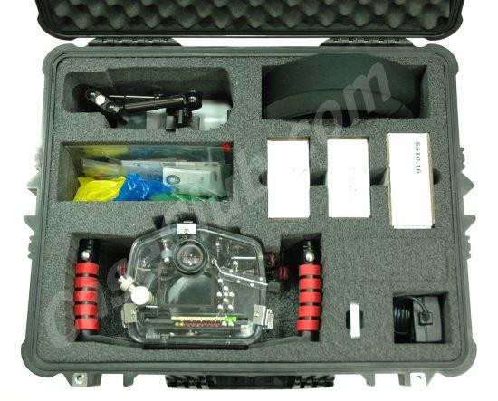 Ikelite DSLR Underwater Housing Case - Foam Example