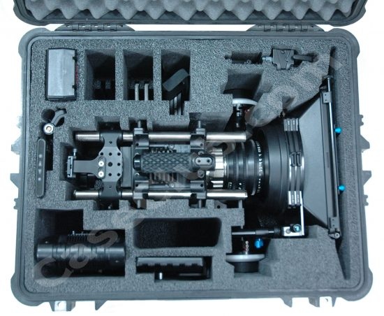 Red Epic Camera Case - Foam Example
