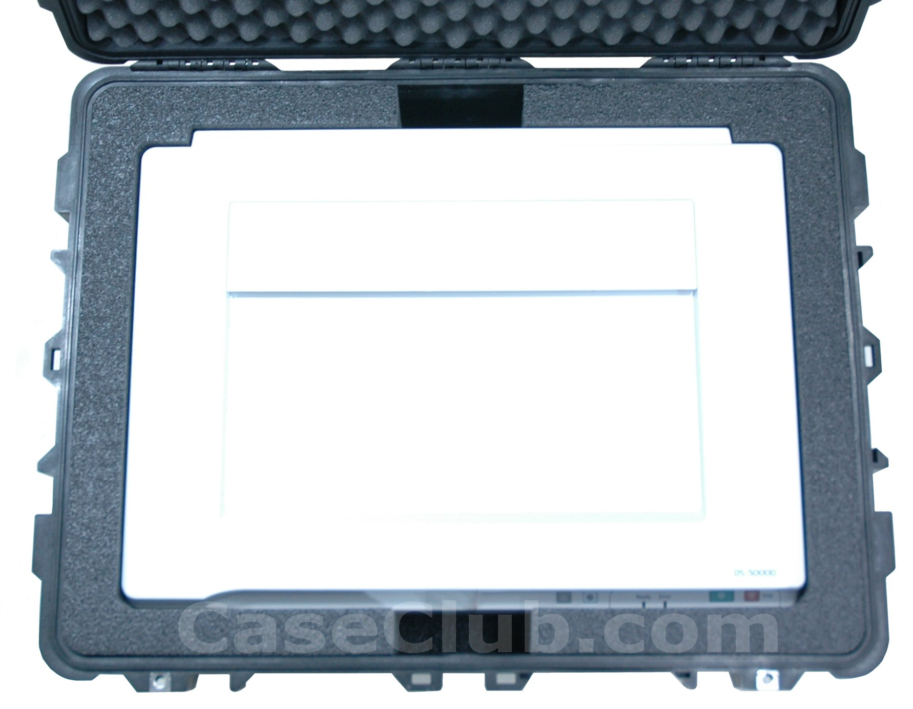 Pelican™ 1630 Case Custom Foam Example: Epson WorkForce DS-50000 Scanner Case