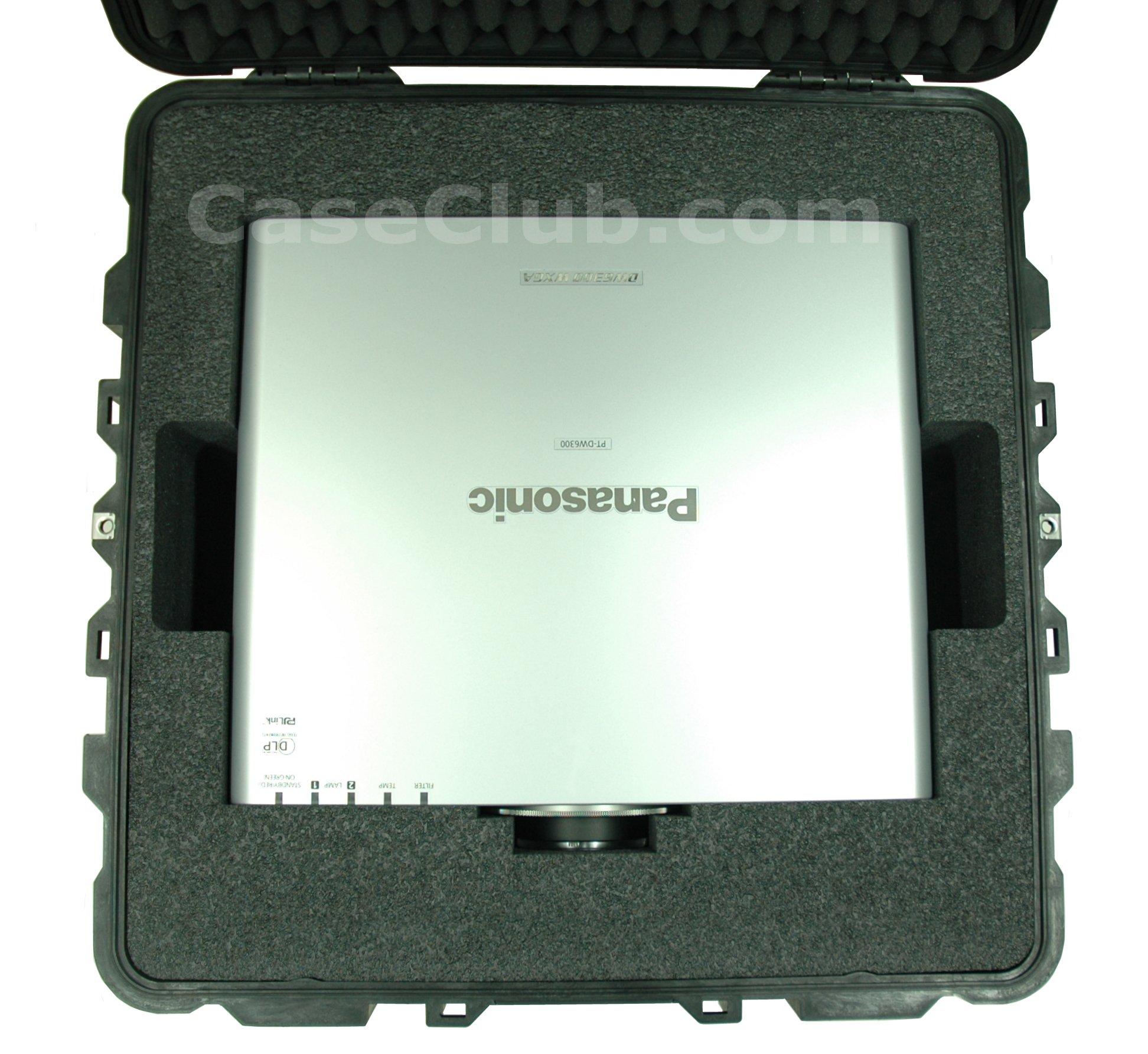 Pelican™ 1640 Case Custom Foam Example: Panasonic PT-DW6300US DLP Projector Case