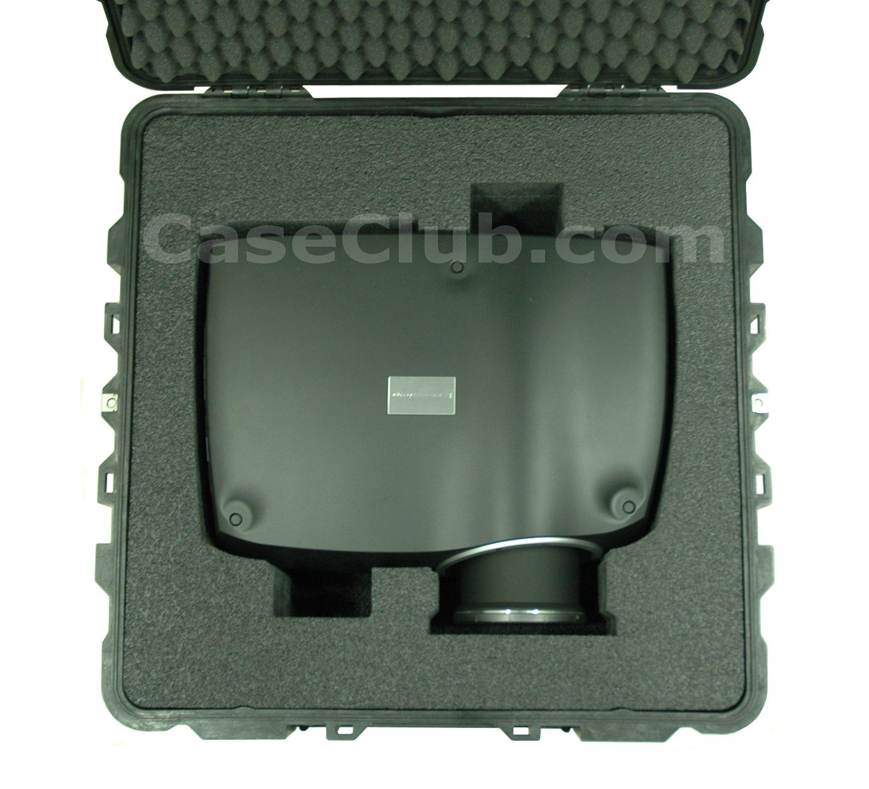 Pelican™ 1640 Case Custom Foam Example: Barco F32 Series Projector Case