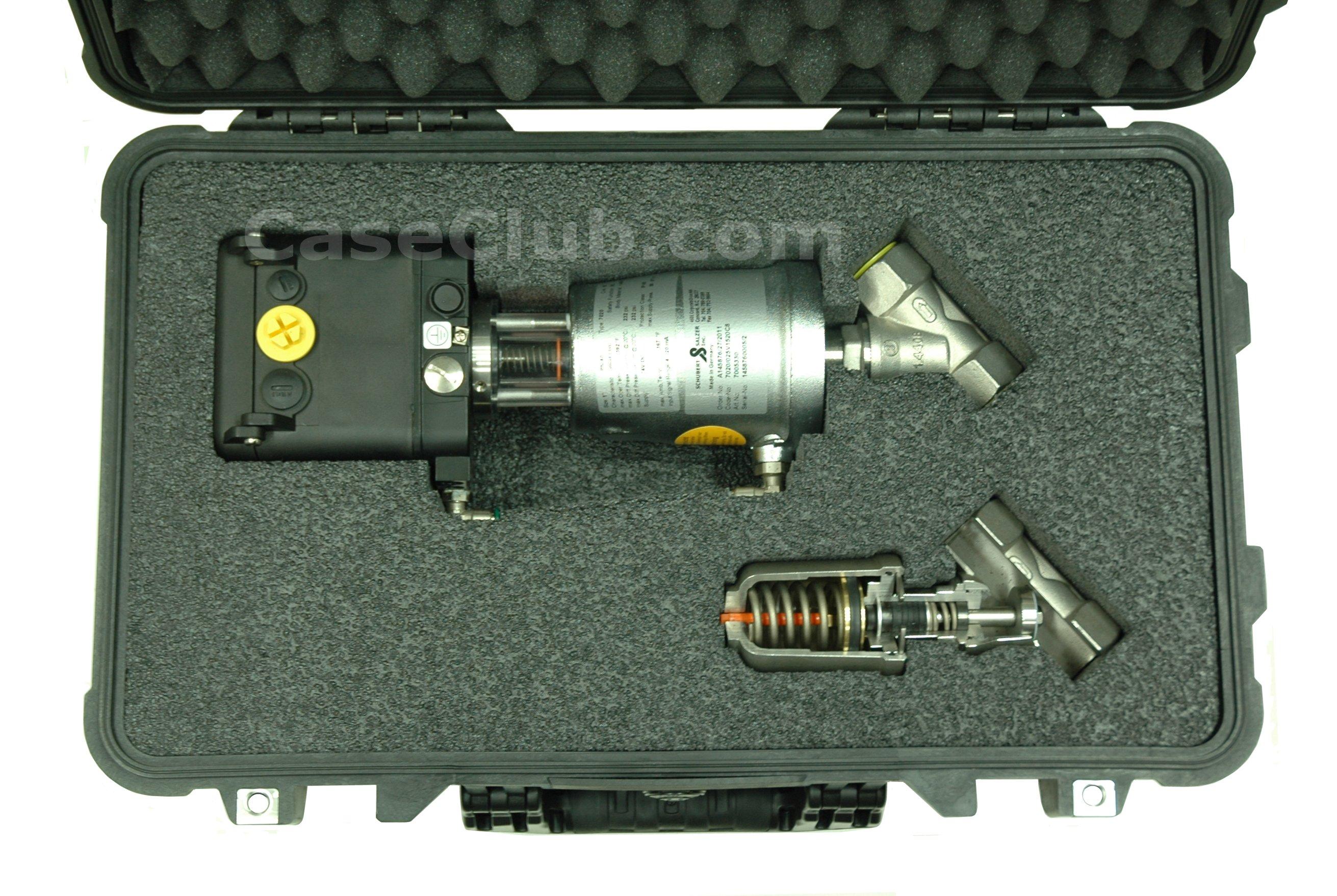Pelican™ 1560 Case Custom Foam Example: Schubert
