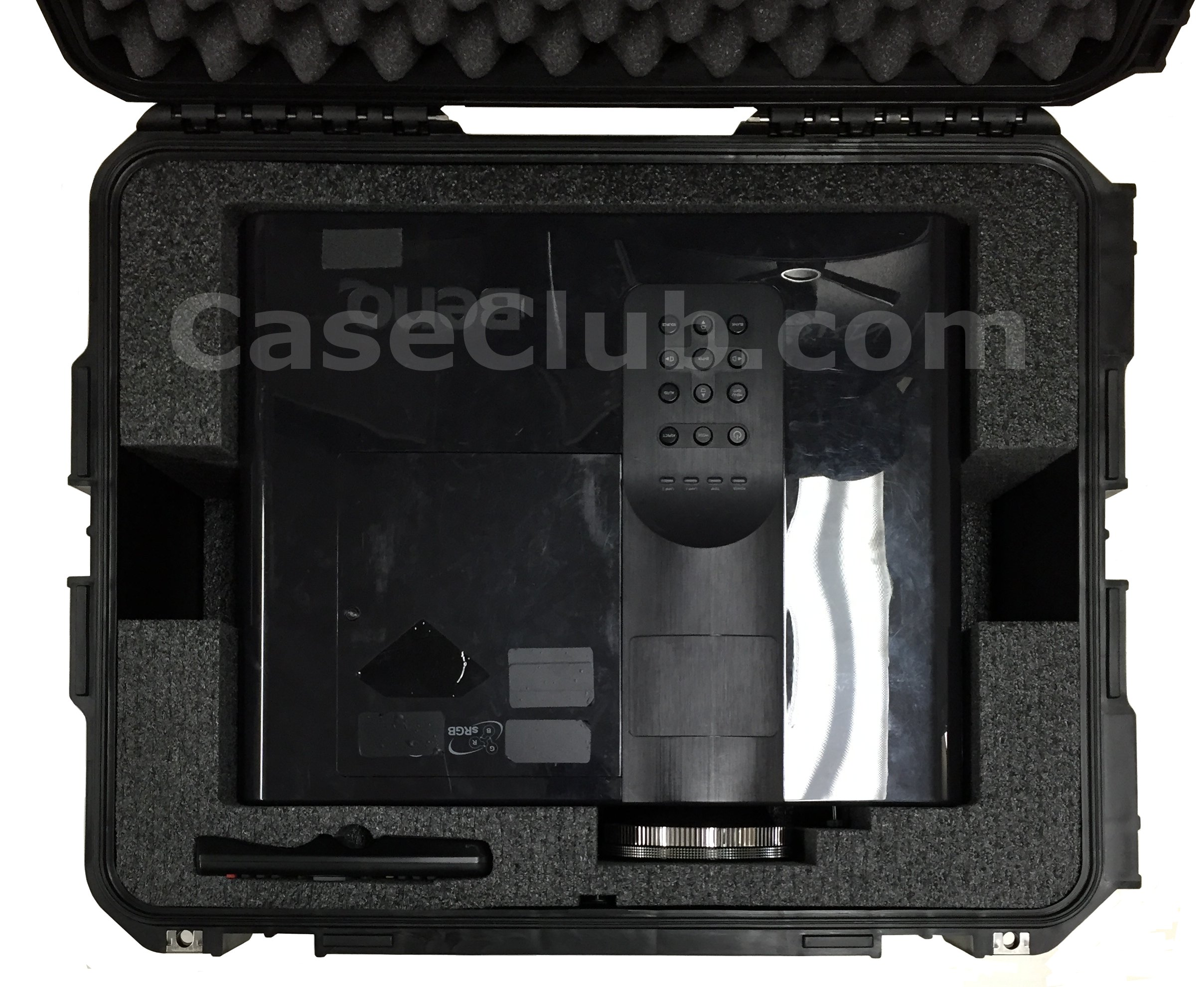 SKB 3I-2217-10 Case Custom Foam Example: Benq SH960 DLP Projector Case