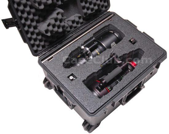 Canon 30-300 & Arri Alura 45-250 PL Lenses Case - Foam Example