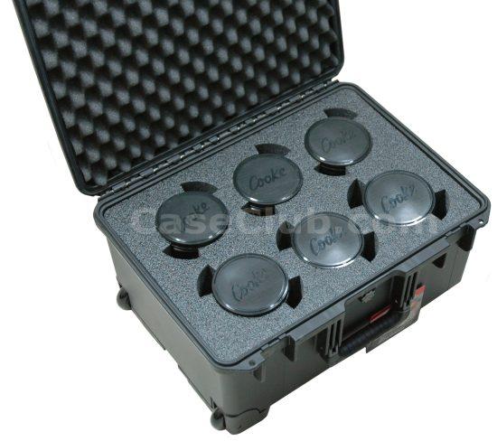 6 Cooke S4 Lens Case - Foam Example