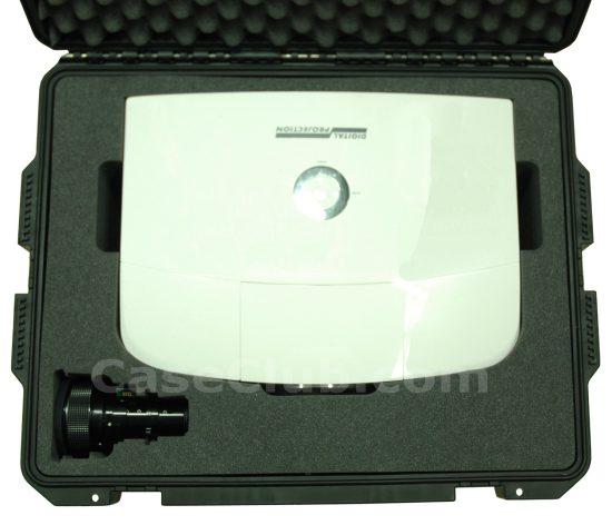 Digital Projection E-Vision WUXGA 4500 Projector Case - Foam Example